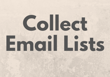 Collect Country Based Targeted Email List