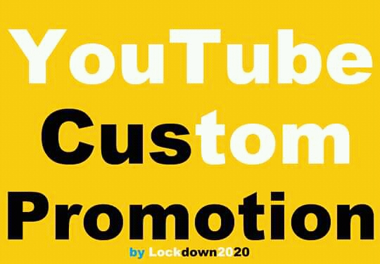 Add Safe YouTube Video High Quality Promotion Marketing