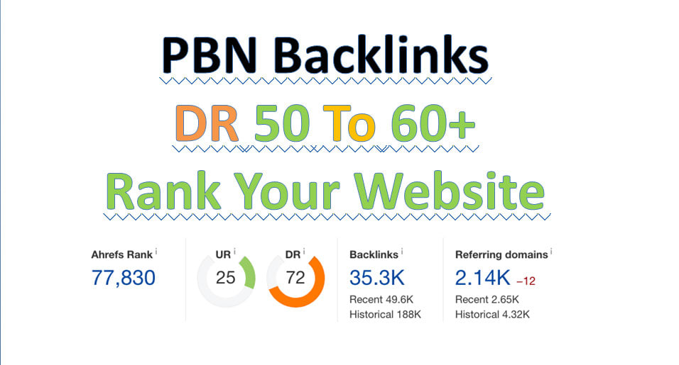I will make DR 50 dofollow permanent homepage backlinks