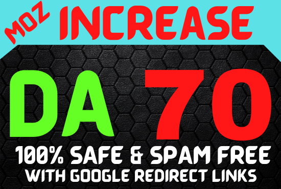 I Will Increase Your domain Authority 0 to 50 in 20 to 30 Days