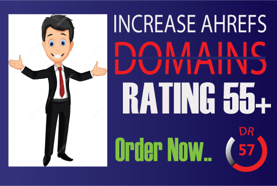 i will increase Ahref domain rating DR 50 plus fast Guaranteed