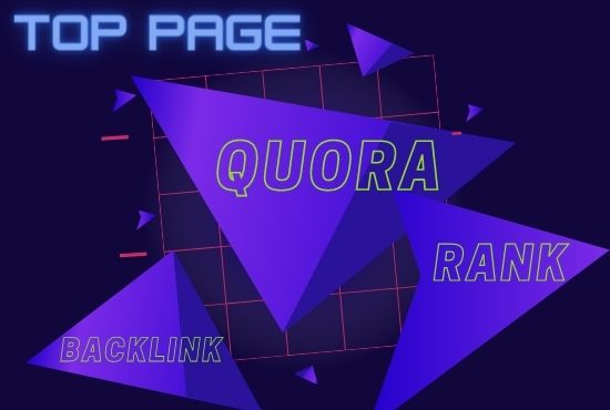 I will make excellent Quora backlink and organic traffic for your website at an affordable price