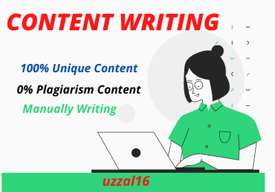 I Will Write 1000 Words SEO Optimized Amazing Content