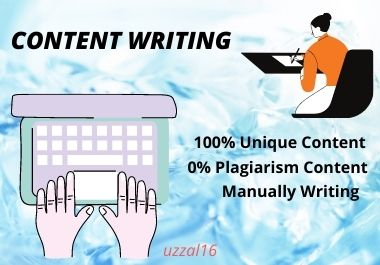I Will Do 500 to 1000 Words SEO Friendly Content Writing For Your Business