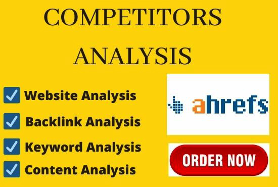 I will provide ahrefs report your websites within 24 hours