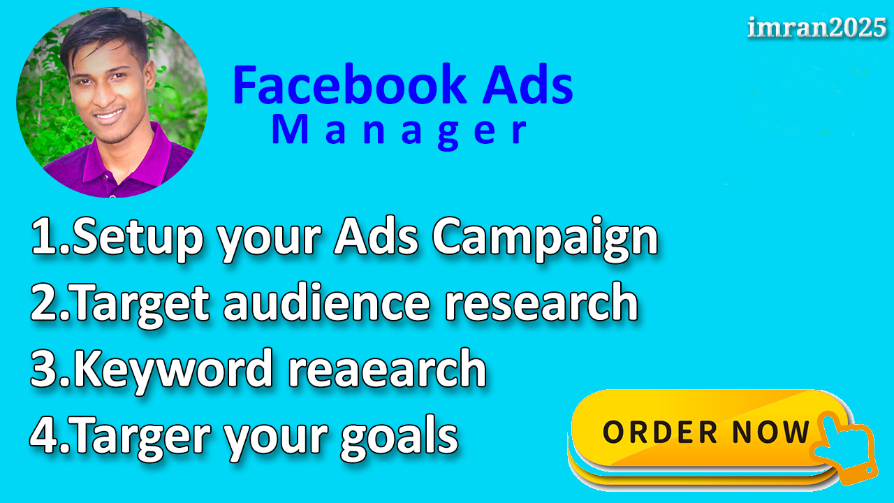 I Will be your Facebook advertising specialist