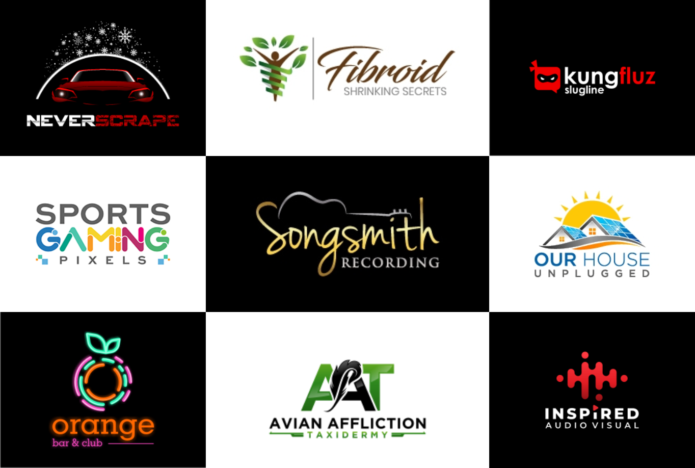 I will modern logo design with a modern concept for your company