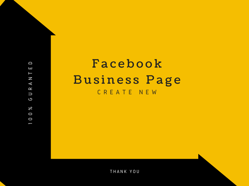 I will create your facebook business page creative design and setup.