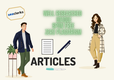 Get SEO Optimized articles of 200-300 words