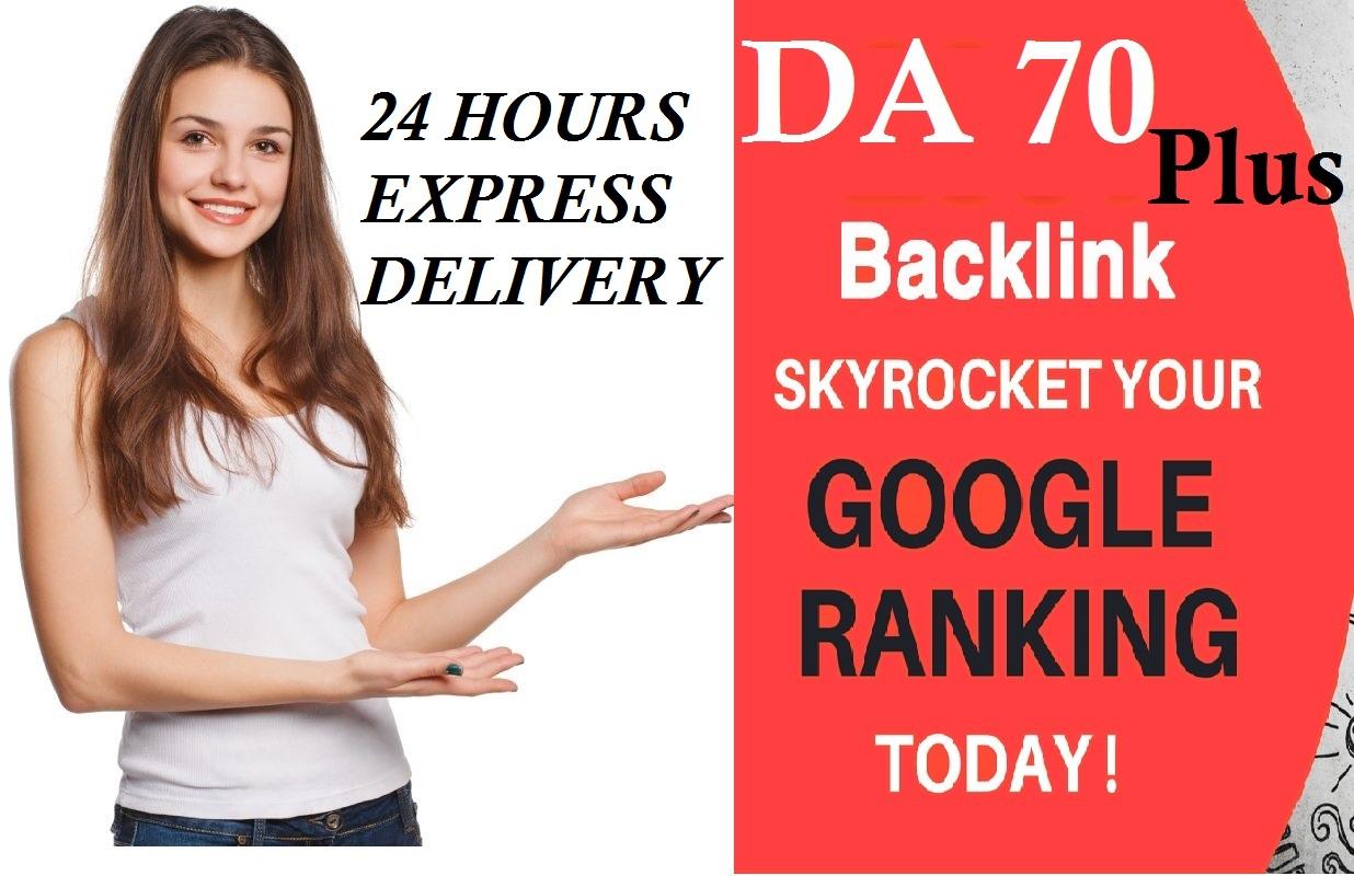 Blaust your ranking with 32 High da 70 + pr9 SEO dofollow backlinks