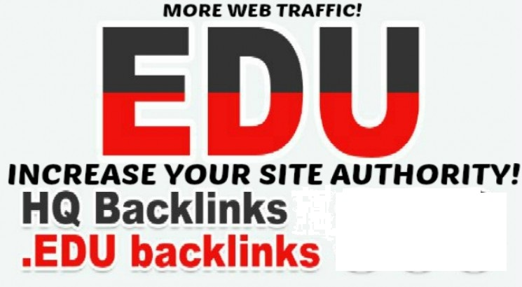 Create 20 Edu Gov High da SEO Backlinks, Link building
