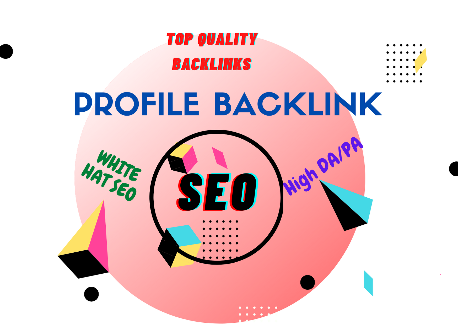 I will do create 200 high quality profile backlinks for SEO