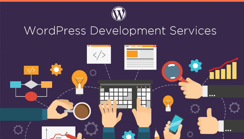 WordPress website design service,  installation and theme setup