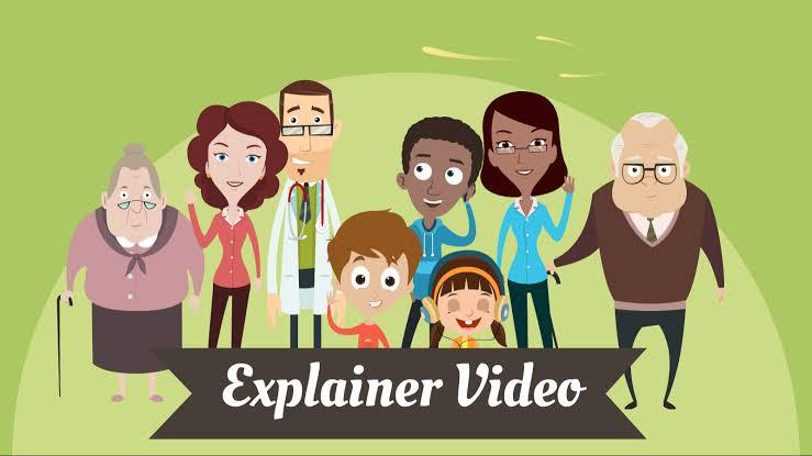 create custom 2d explainer animation Video 2020