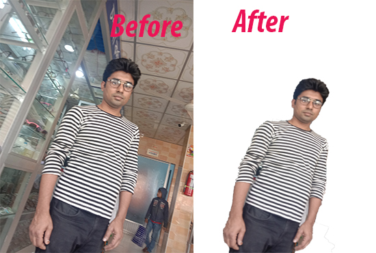 i will Do Background Remove Photoshop editing cut out photo