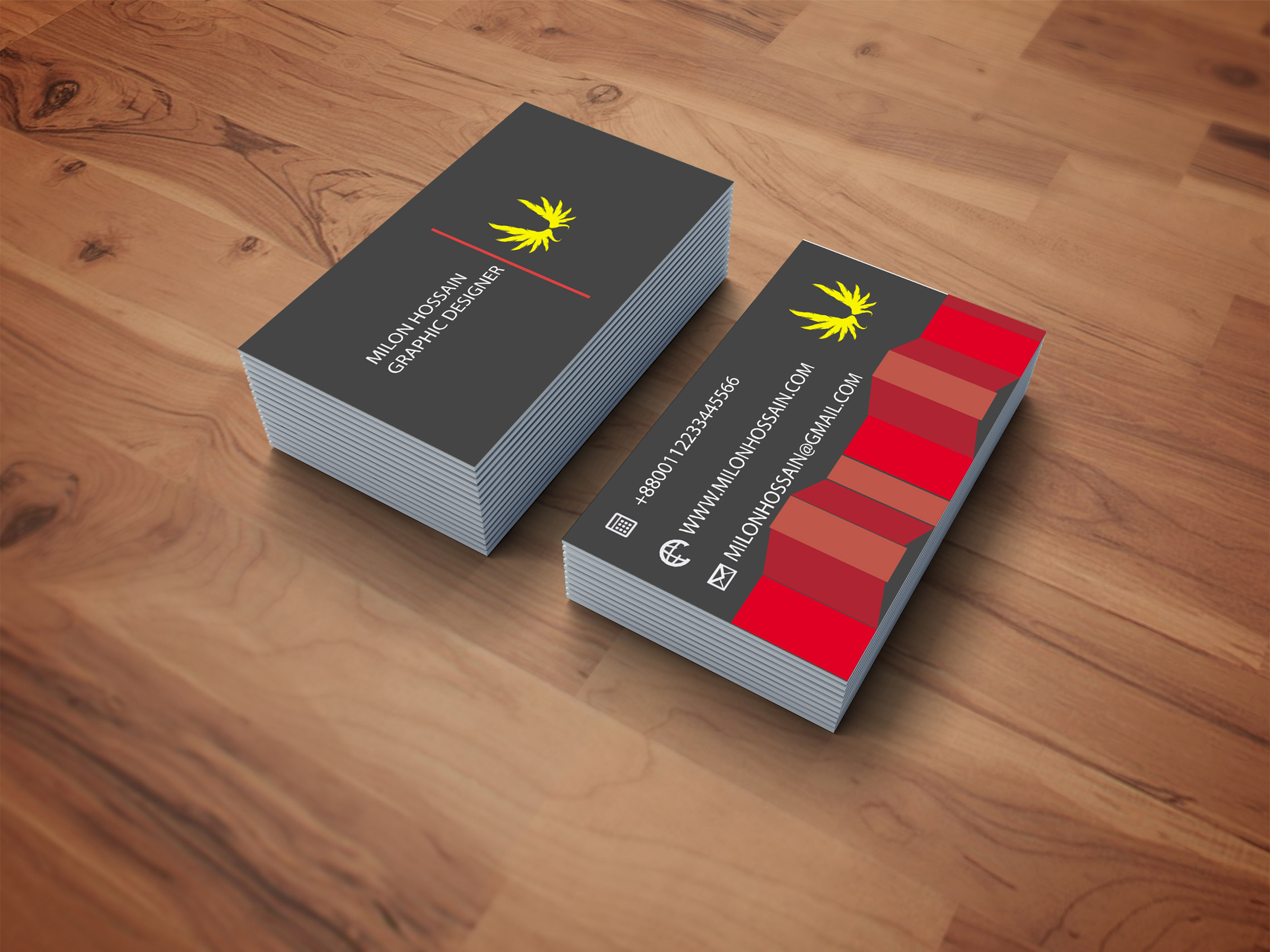 I will design minimalist business card and stationary and logo