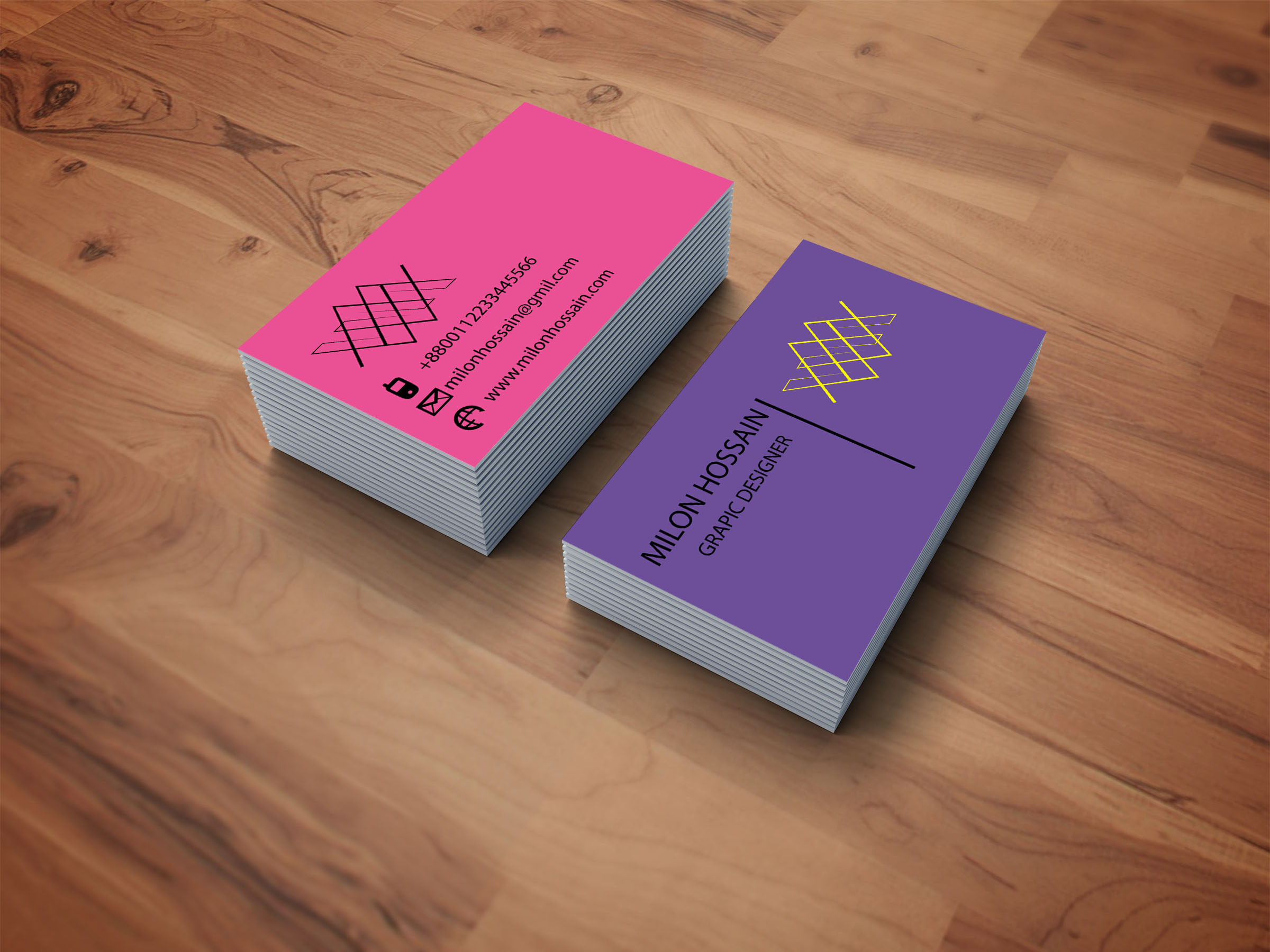 I will design modern business card and stationary and logo