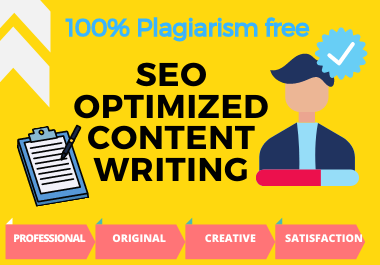 1000 words SEO optimized Article Writing or Blog Post for your website