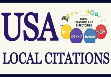 I will list your business manually in top 150 USA local citations