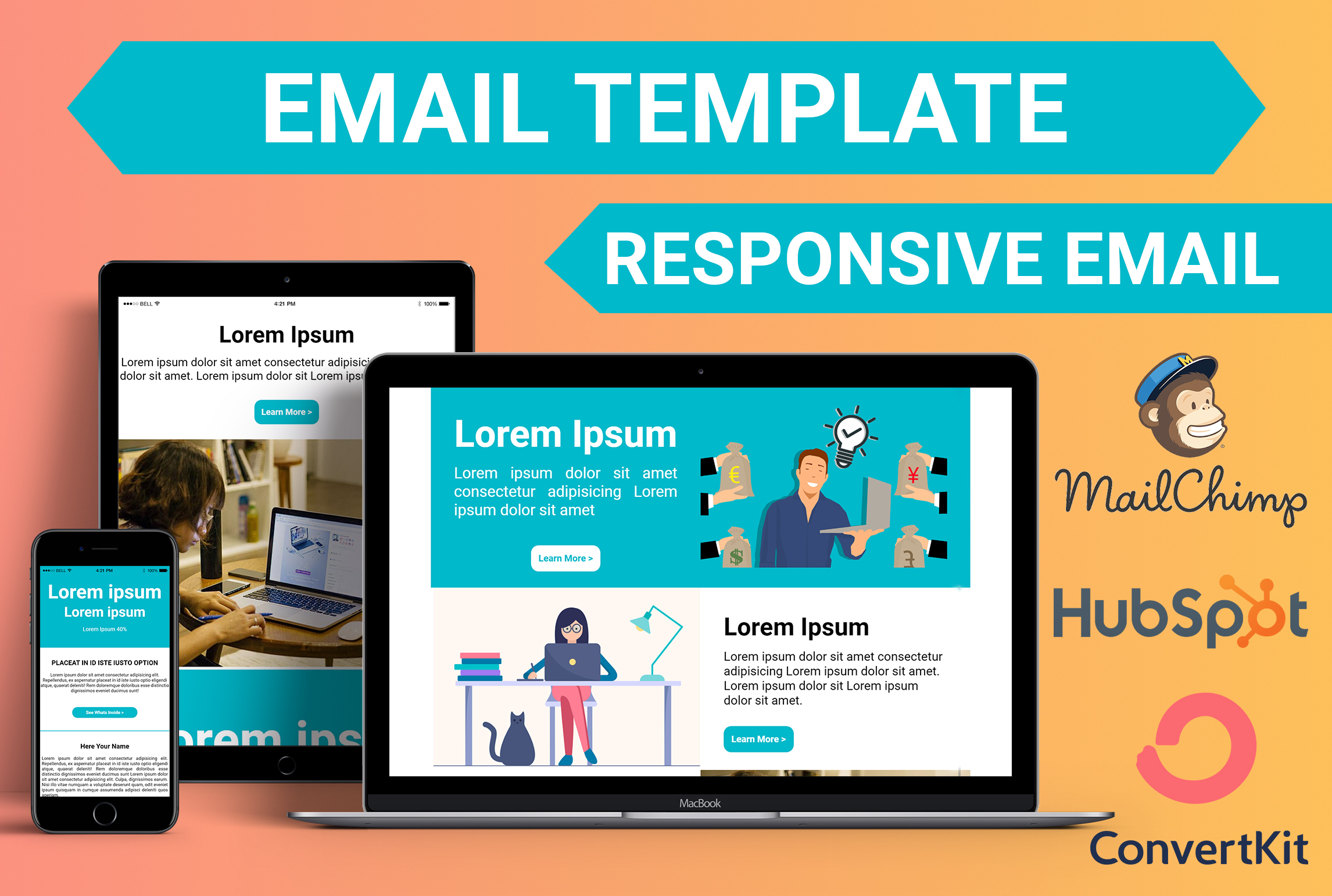I will design responsive email template or newsletters