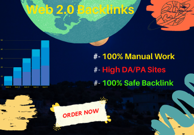 I Will Create 40 Web 2.0 Backlinks.