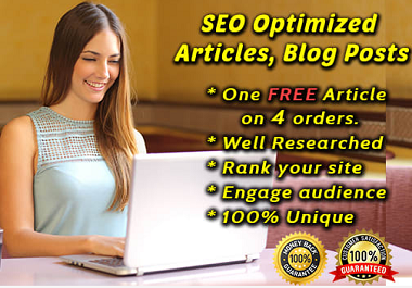 SEO friendly article blog post content writing
