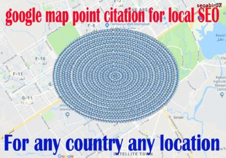 Create 450 google maps citations for ranking gmb and local business SEO