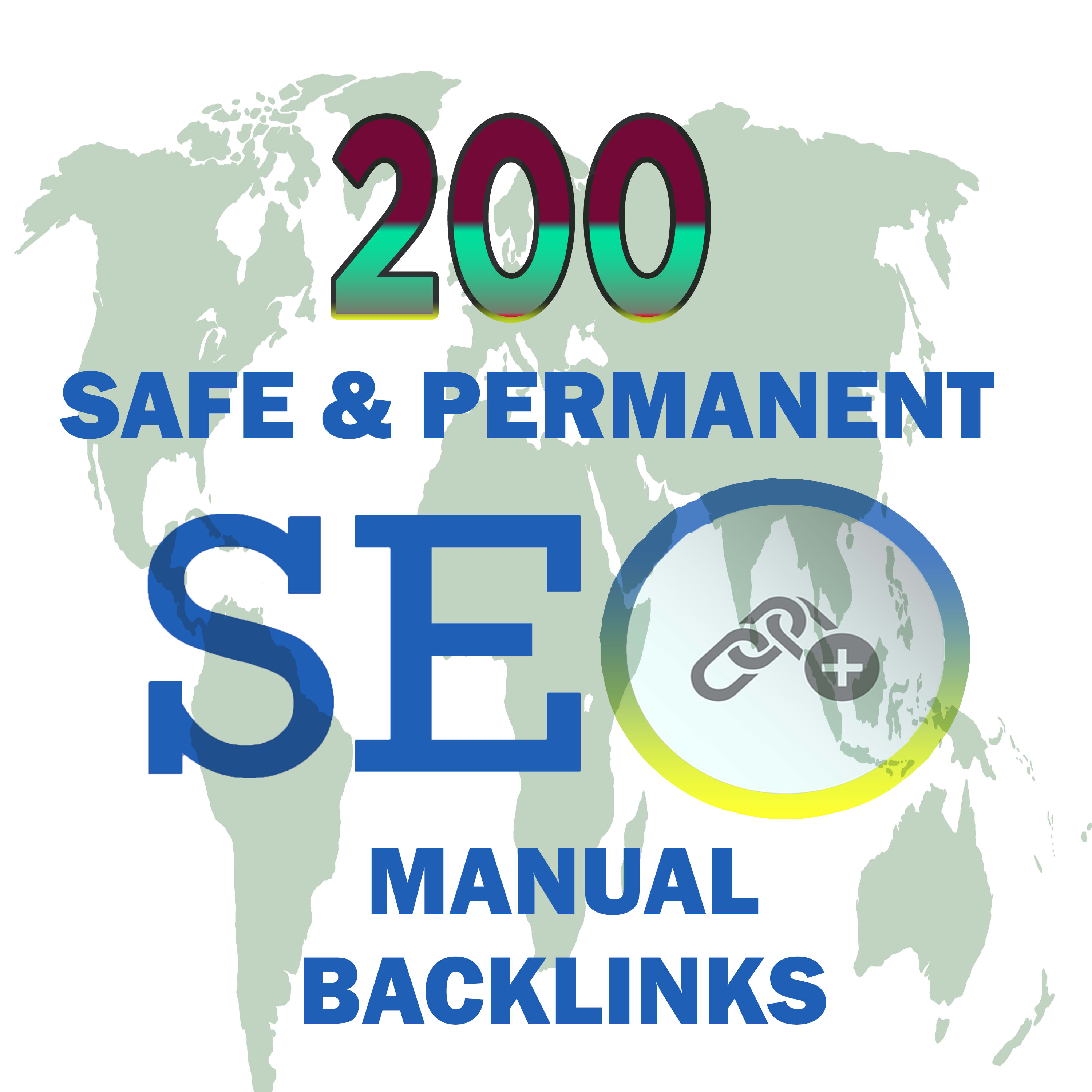 I will do 200 safe and permanent manual seo backlinks