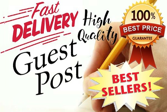 I will publish real guest post high da 80 plus website