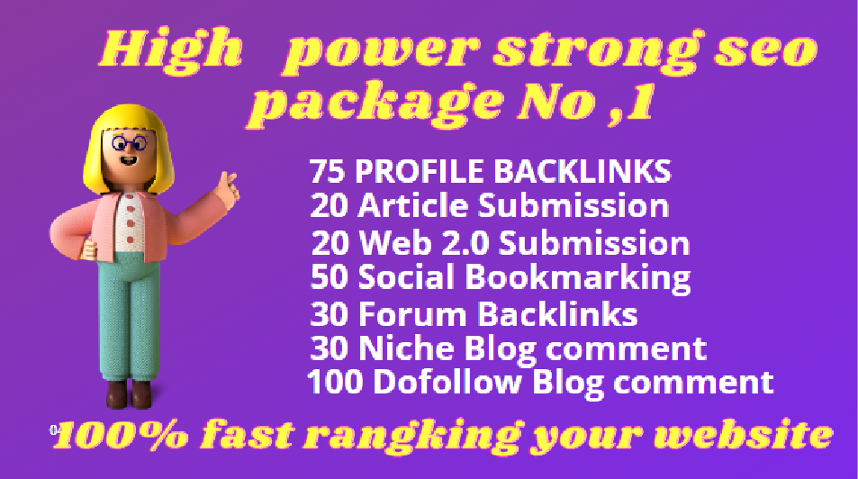 I will skyrocket your website ranking super booster package