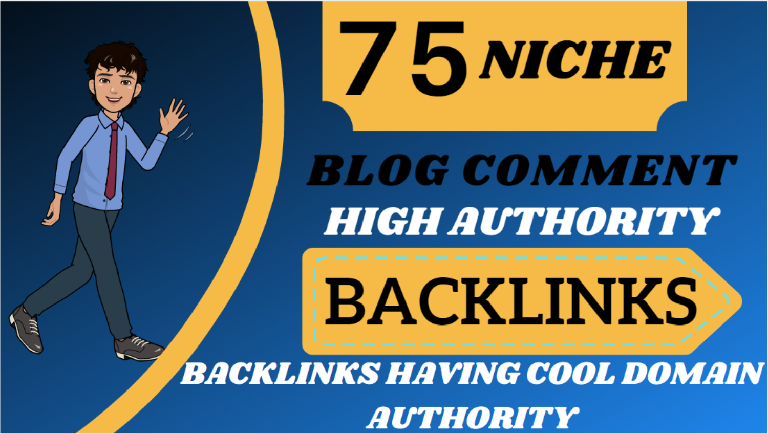 I will provide 75 top quality niche related blog comments