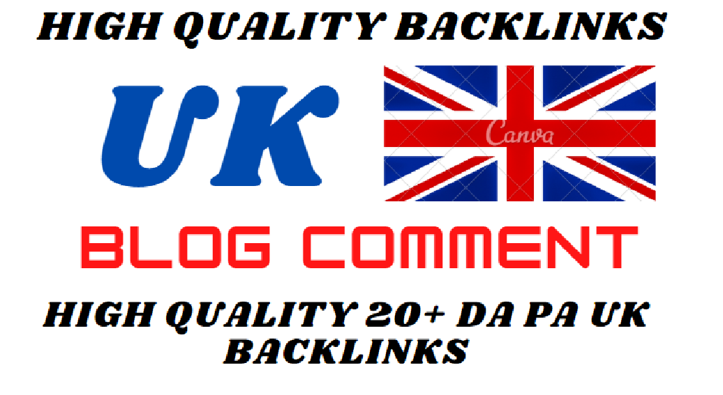 I will permanent UK top level domains high quality backlinks