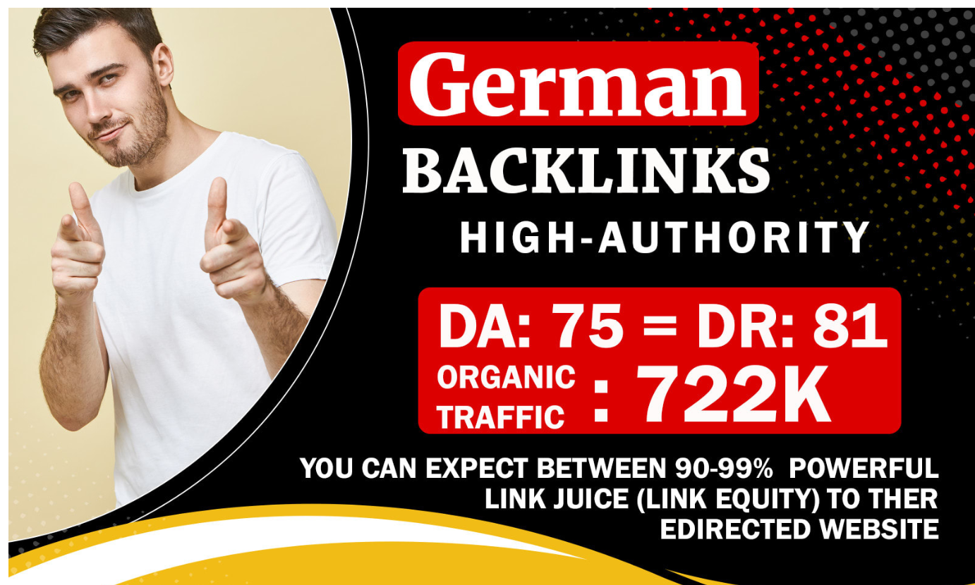 I will do dofollow german guest post on DR 81 blog link willl be indexed