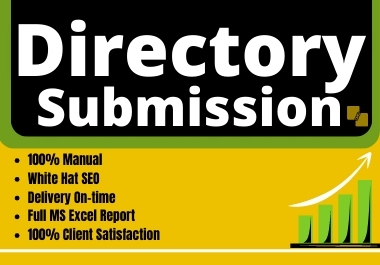 I will make 100 directory submissions manually