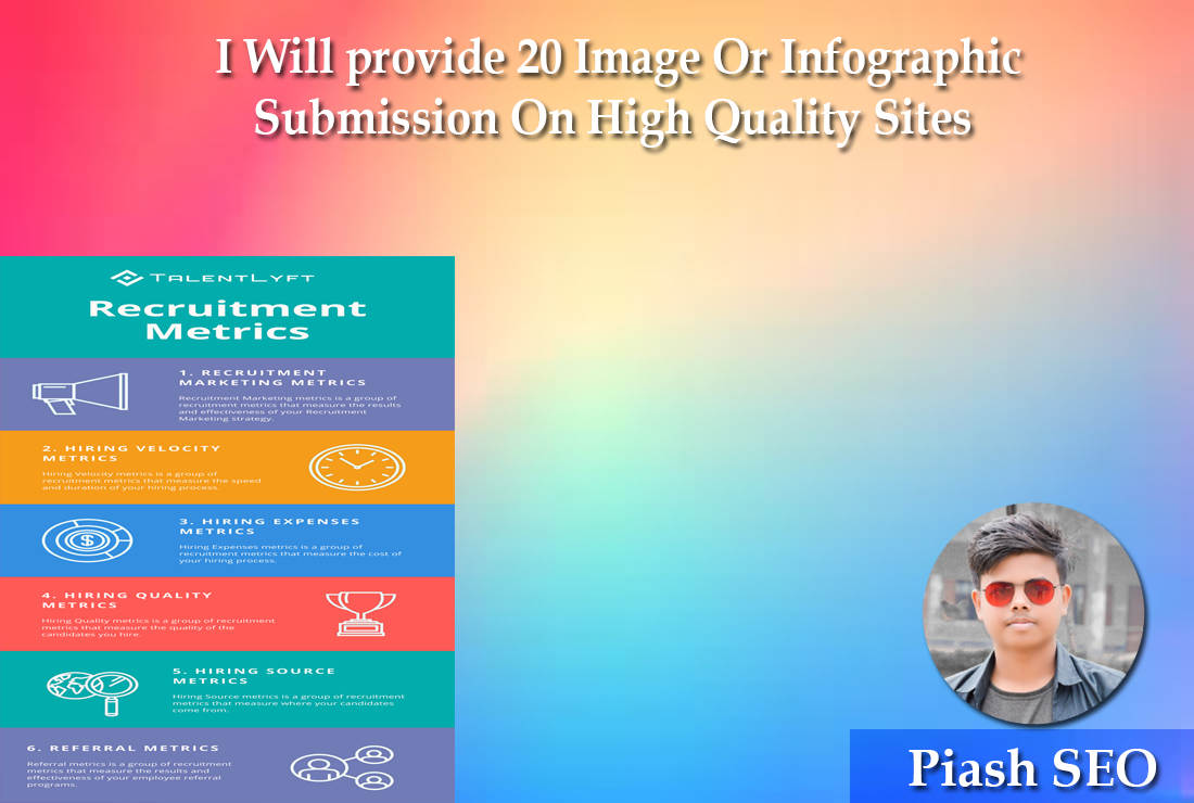 I Will provide 20 Image Or Infographic Submission On High Quality Sites