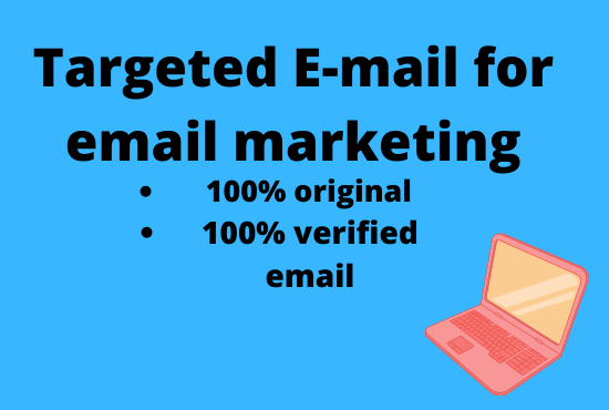 I will provide 1000 targeted verified email