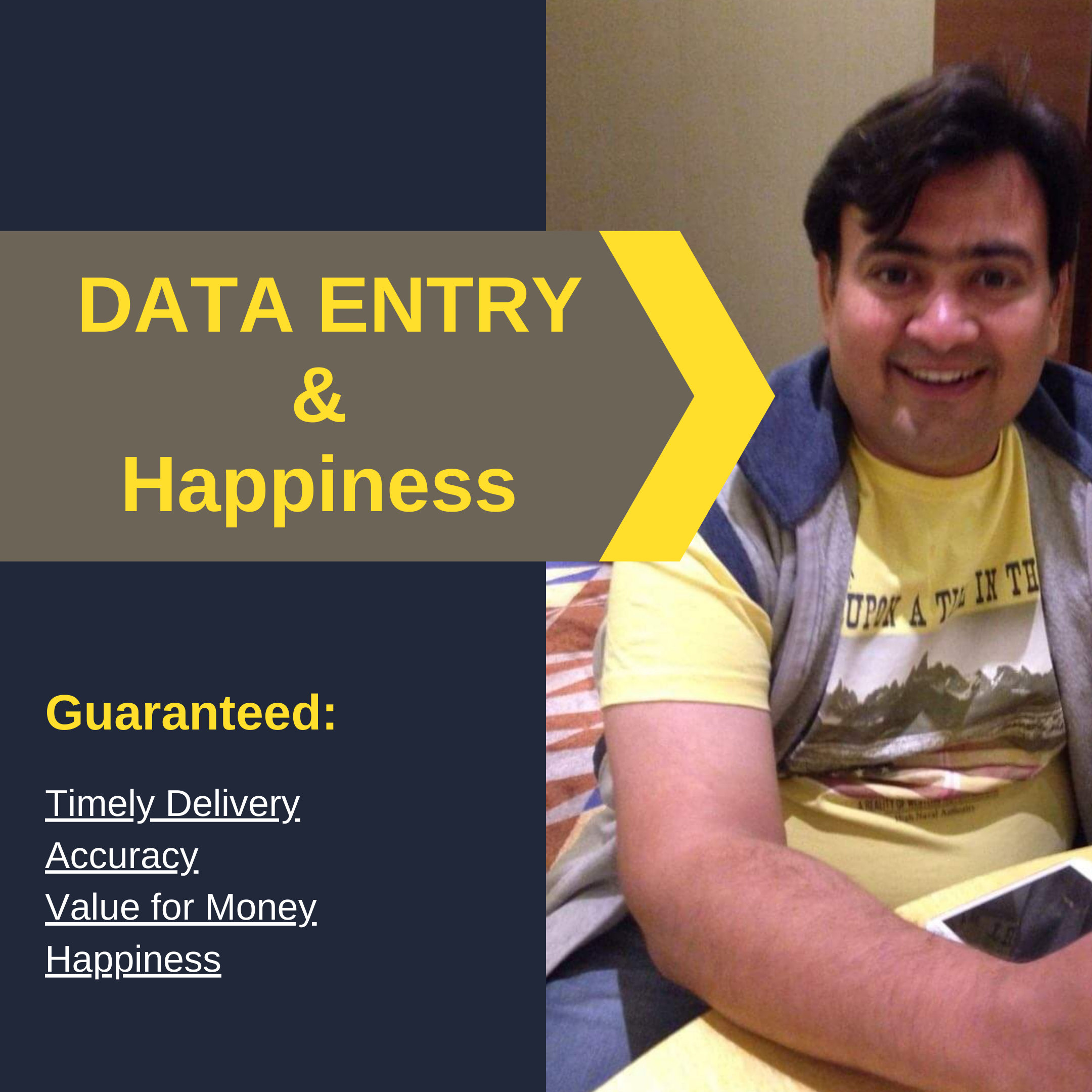 Spreading happiness through Data Entry