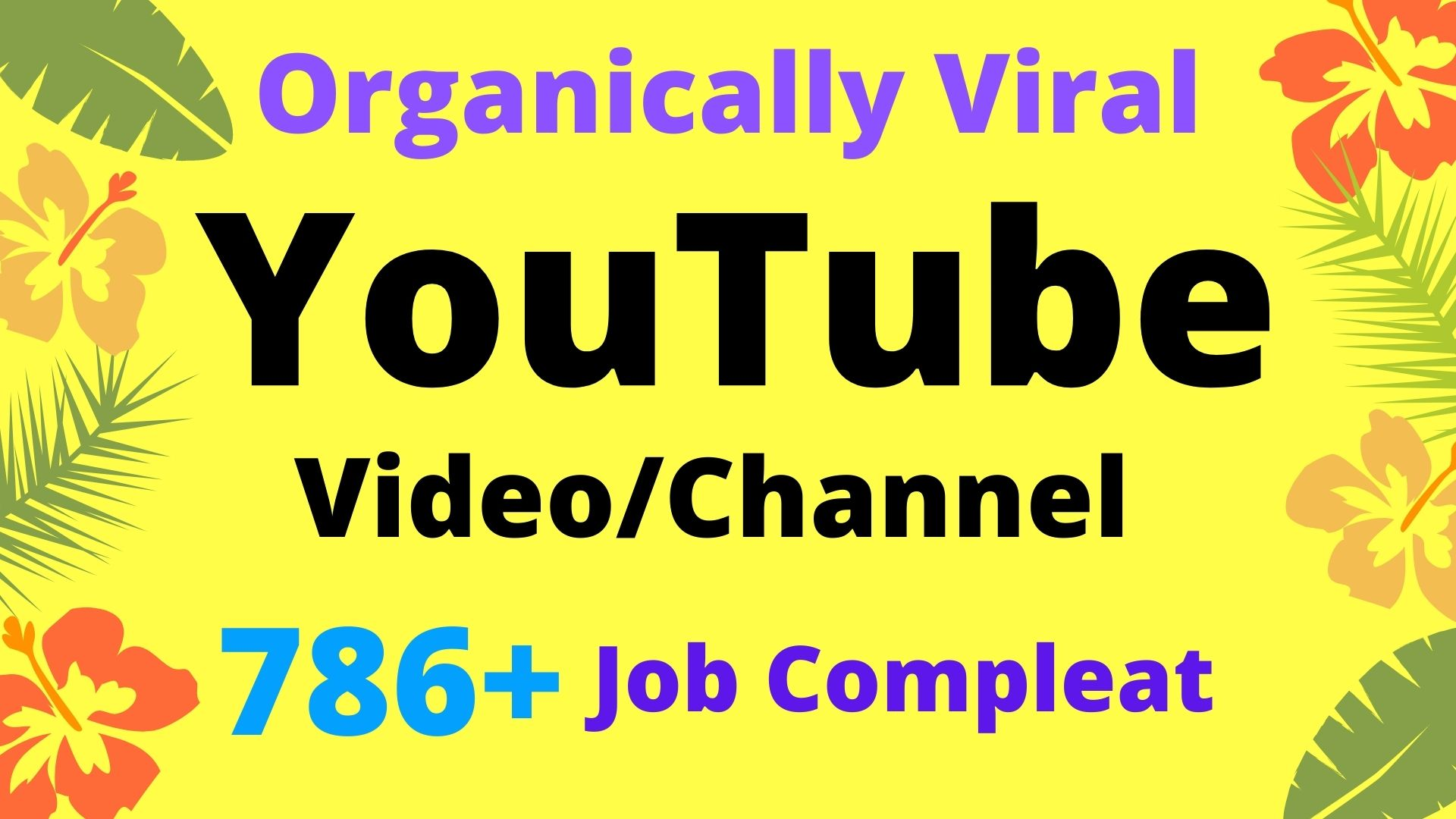 I will do organic YouTube video promotion and YouTube SEO