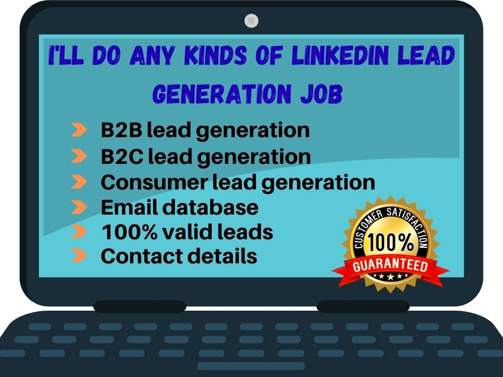 I will be your best professional lead generator