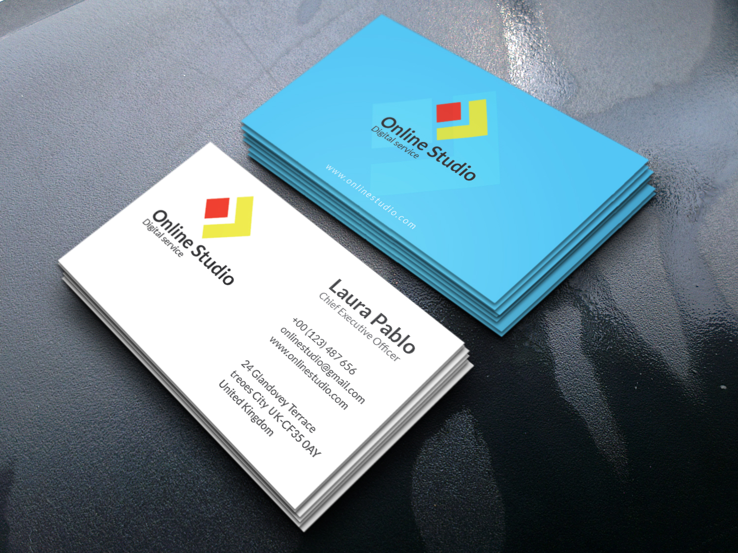 I will create unique business card design within 12 hours
