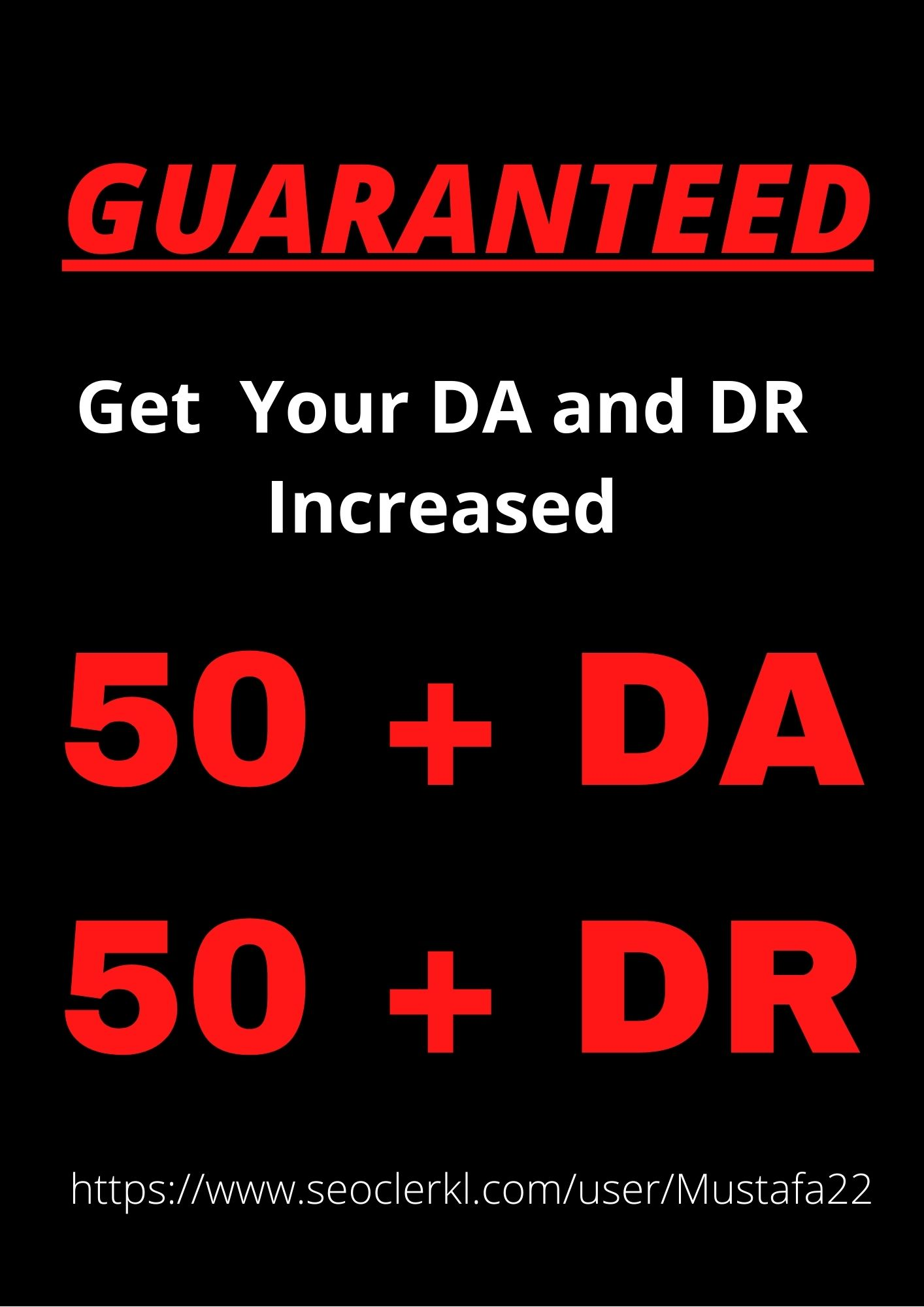 Increase Your Domain Ratings DR50+ and Website Domain Authority DA50+ In 30 days