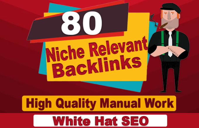 I will create 80 niche relevant blog comments backlinks