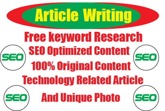 seo article writing,  technology writing 1500 words