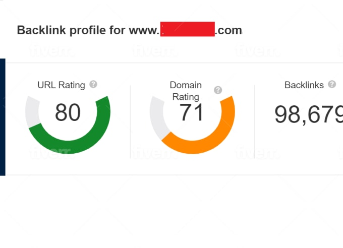 I will Guarented increase domain rating ahrefs DR 50 moz da 50 majestic tf 30