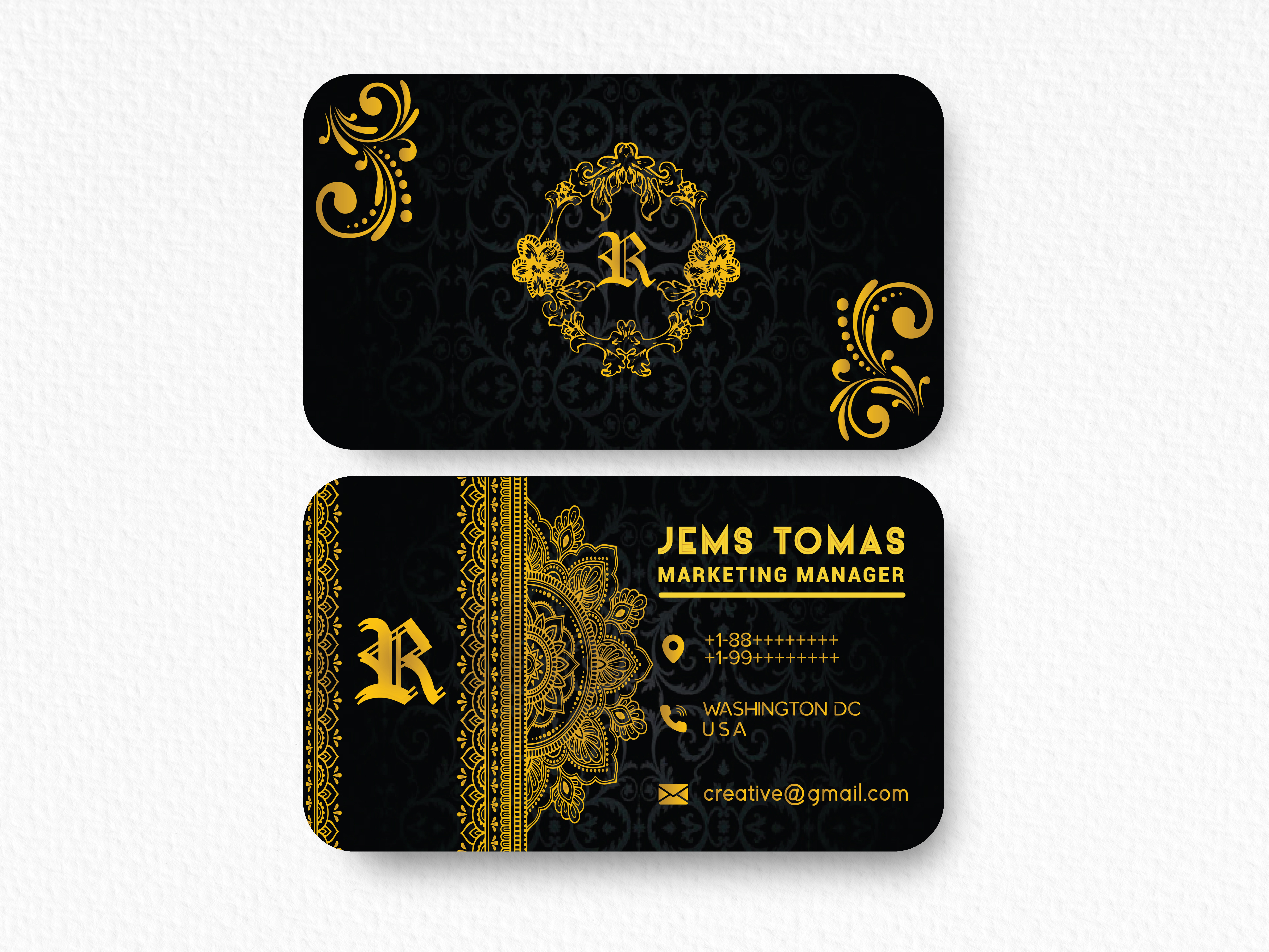 I will Design you unique Luxury Business Card for your business, company and many more