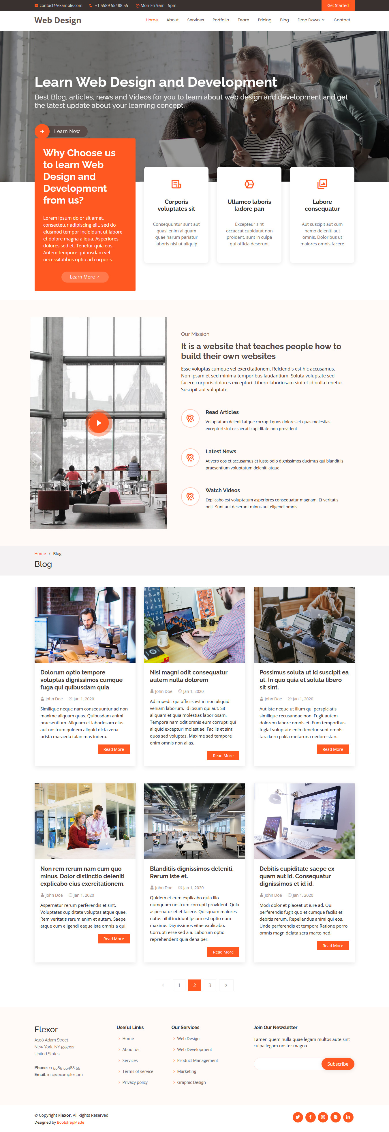 Wordpress Website Create, build or customize with Highly optimized theme