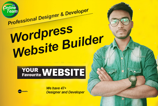 I will create WordPress Website with mobile responsive design