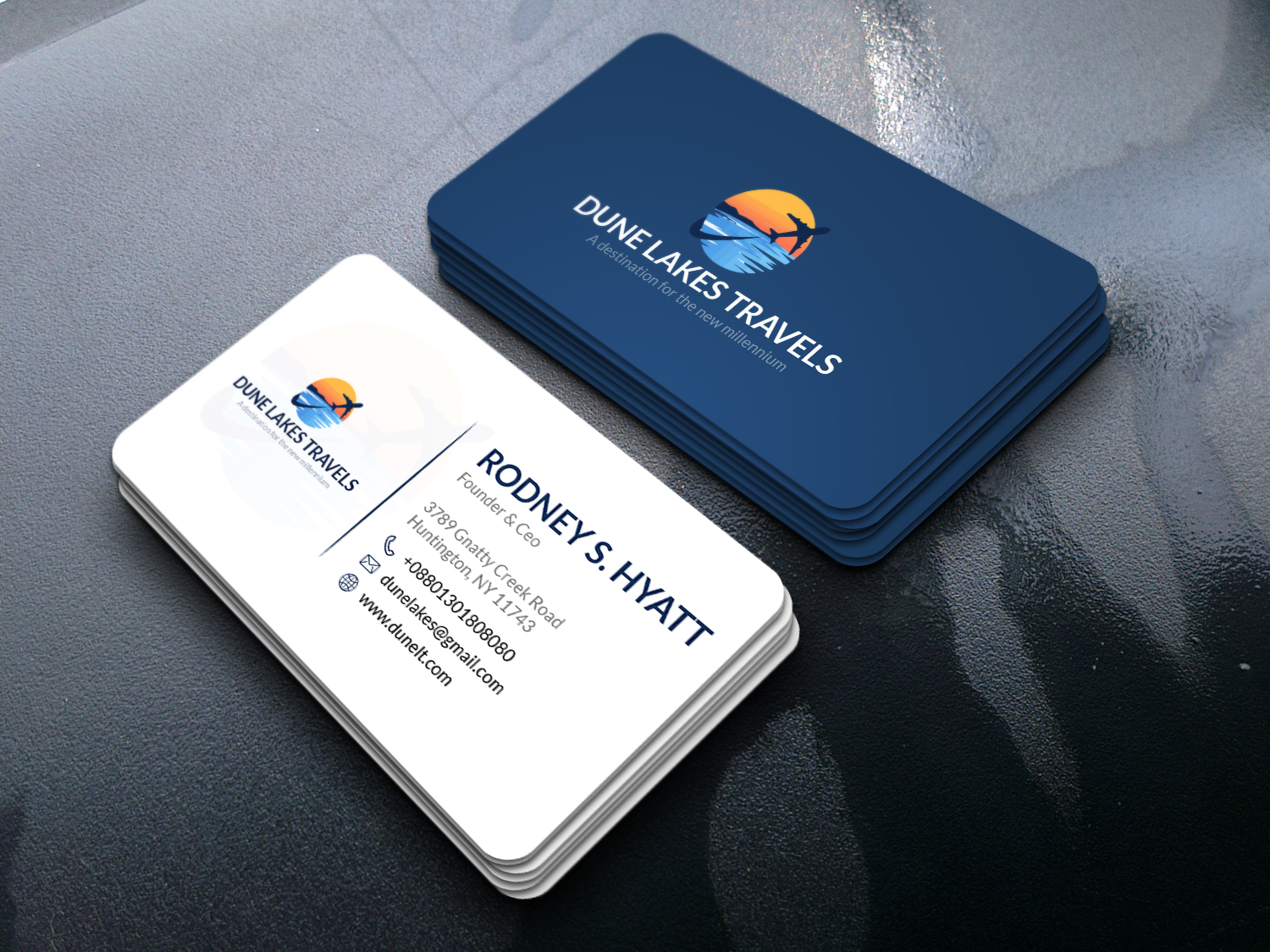 I Will provide you with a High Quality minimalist Business card design