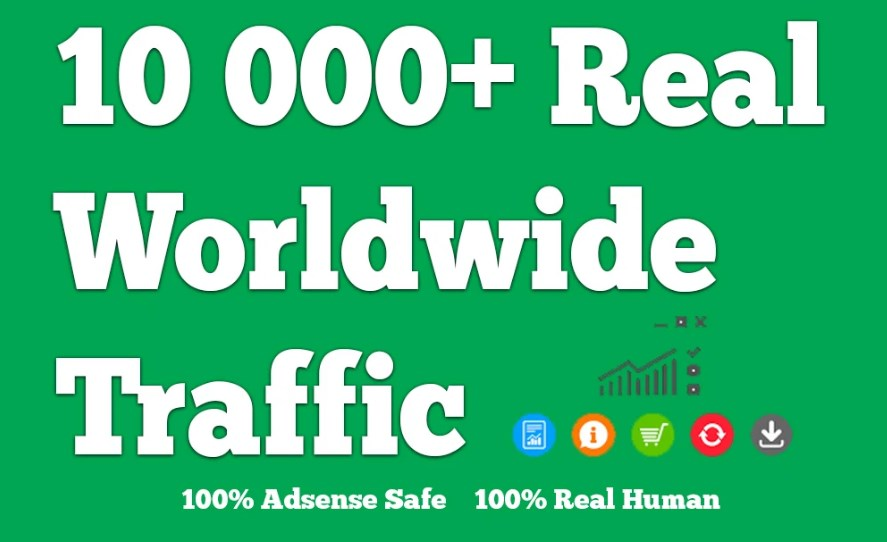 Drive Worldwide Keyword and Niche Targeted Traffic for 30 Days