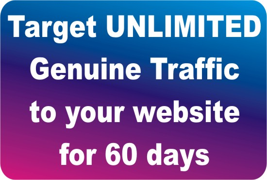 Drive Targeted Organic Google Traffic To Your Website or Offer for 60 Days